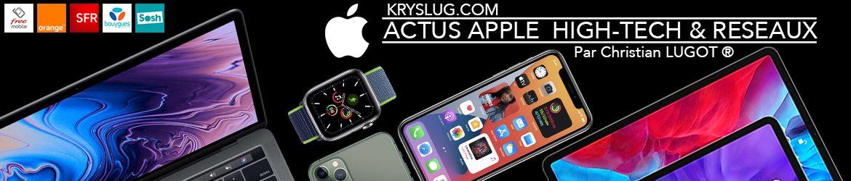 Actus Apple High-Tech & Réseaux